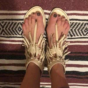Sam Edelman Fringe Sandals